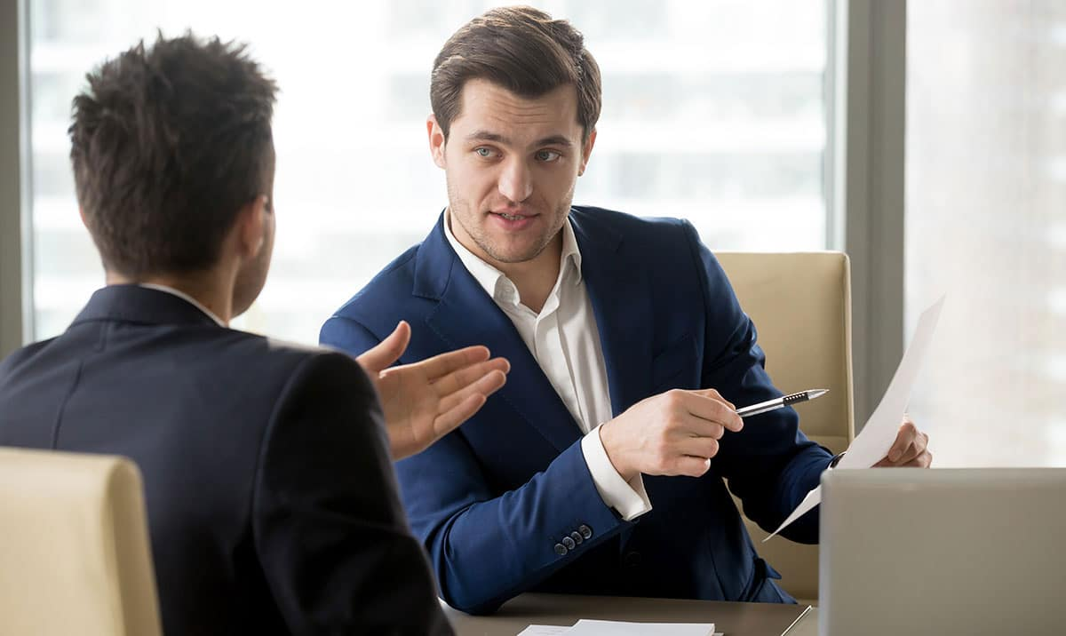 Business leaders' conversation